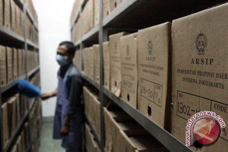 Pengelolaan arsip di Yogyakarta diusulkan jadi penilaian tunjangan kinerja pegawai