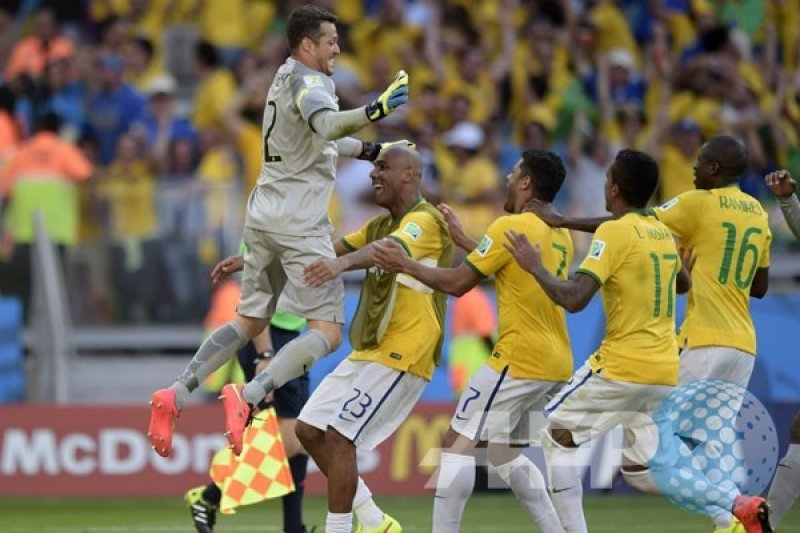 "Julio Cesar ""Man Of The Match"" Brasil vs Chile"