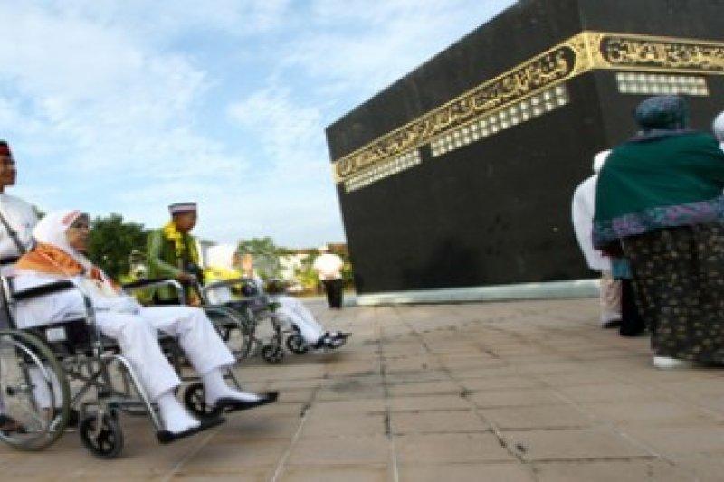 1.238 Calhaj Pekanbaru ikuti manasik haji di Masjid An Nur