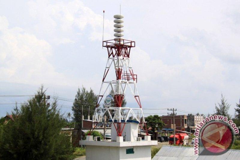 Stasiun Geofisika pantau kondisi peringatan  dini tsunami di Cilacap