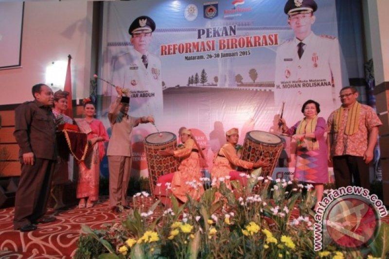 Wali Kota Mataram buka pekan reformasi birokrasi