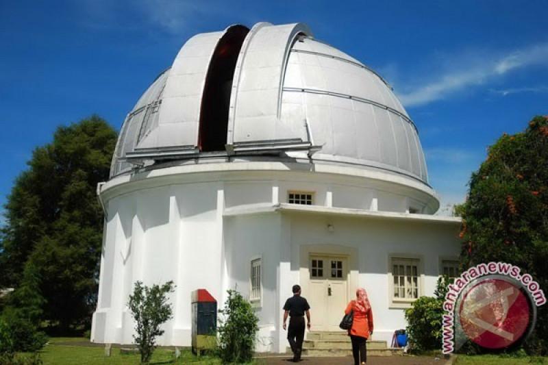 Observatorium Bosscha tidak amati hilal syawal