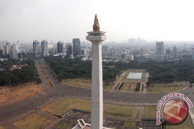Jumat pertama PSBB transisi, cuaca DKI Jakarta cerah berawan