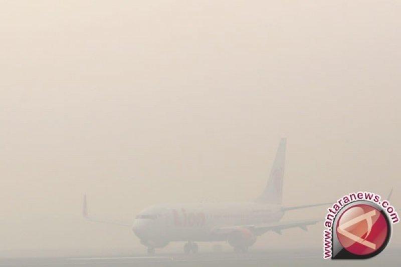 Sejumlah rute penerbangan Lion Air Group terdampak kabut asap