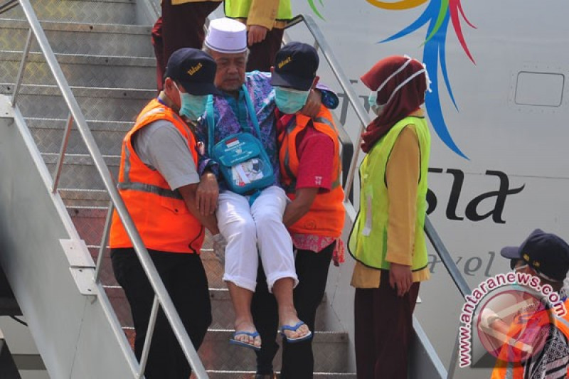 Jamaah haji Banyumas tiba di Tanah Air mulai 7 September