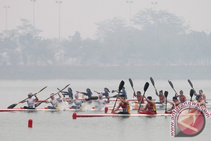 Hasil Kejuaraan Asia Kano 2015 di Palembang