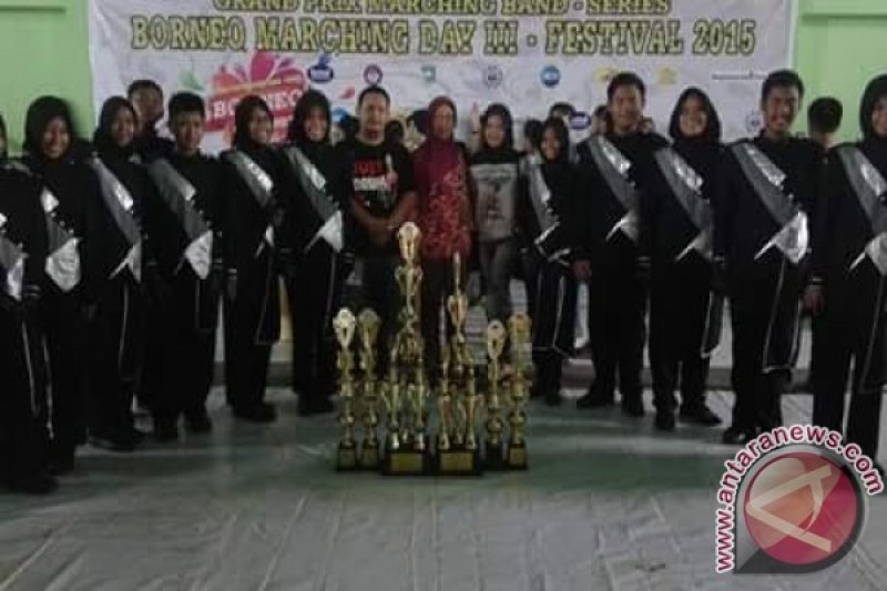 Gita Muara Teweh Juara Umum Borneo Marching