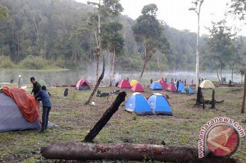 Danau Tambing Kembali Ramai Dikunjungi Wisatawan