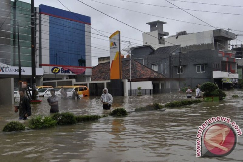 Korban banjir Desa Rias, Bangka Selatan dievakuasi BPBD