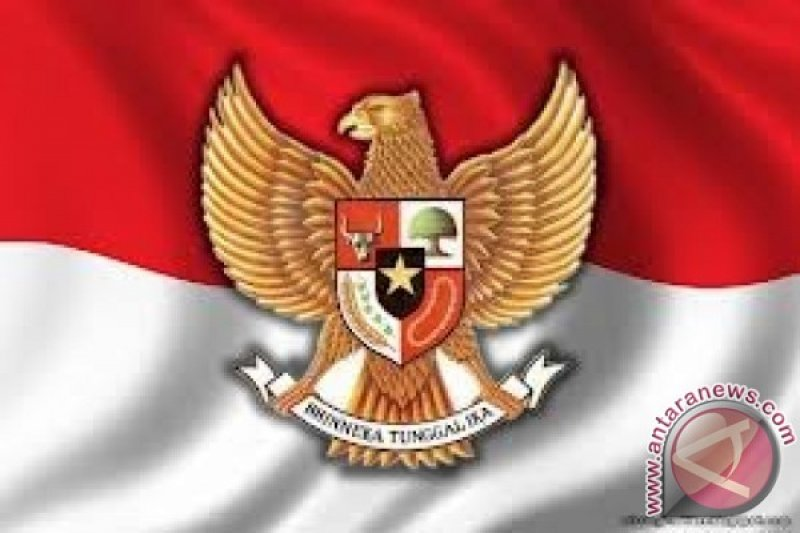 Bendera Merah Putih raksasa dibentangkan di Bukit Kelam Kalbar