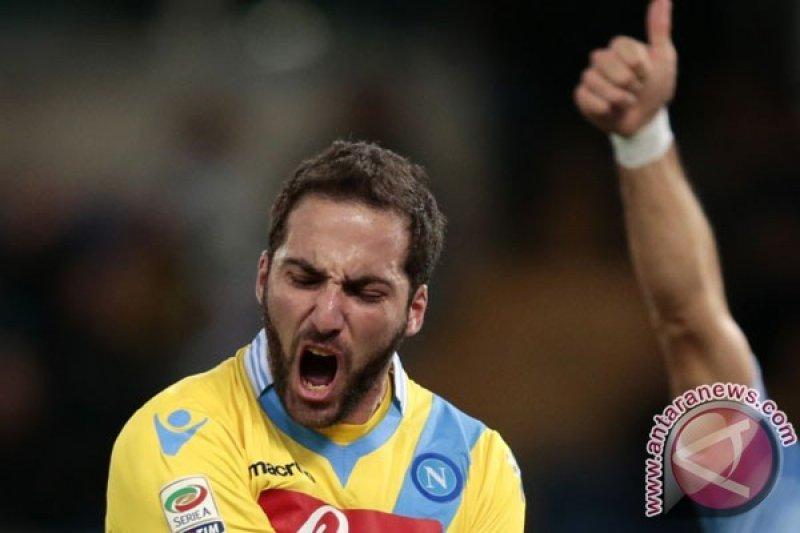 Sampaoli panggil kembali  Higuain untuk hadapi Italia dan Spanyol