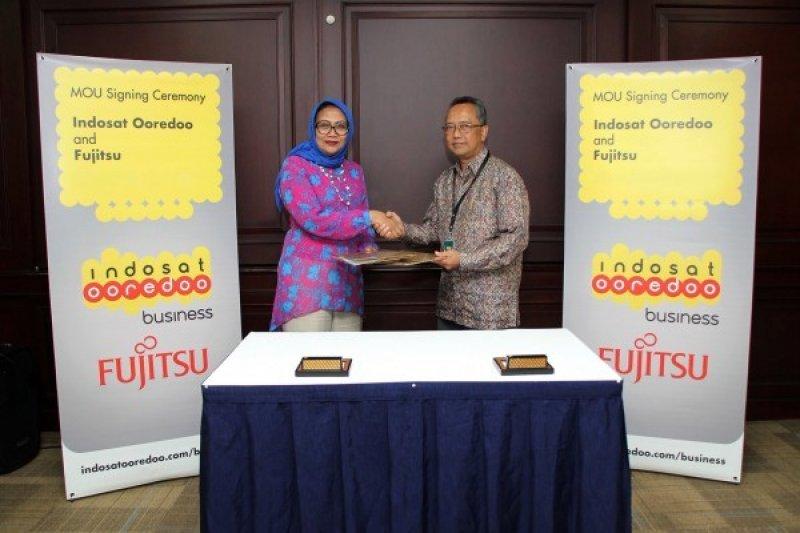 Indosat Ooredoo dan Fujitsu dukung Percepatan Transformasi Digital
