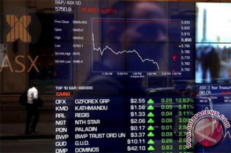 Bursa Saham Australia Turun di Awal Perdagangan