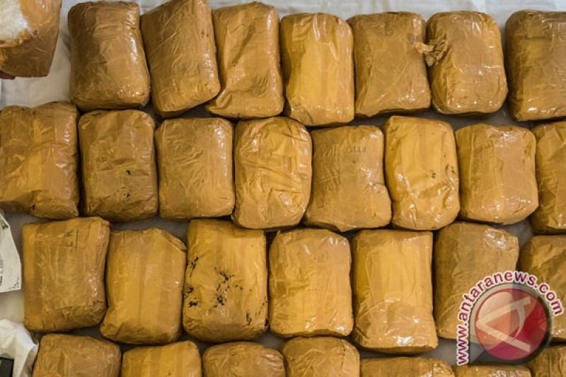 Polda sita 18 kilogram sabu-sabu dan 18.750 h-five