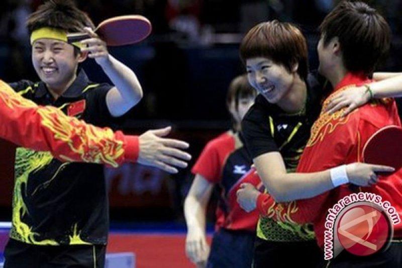 China Kukuhkan Diri Sebagai Raksasa Tenis Meja