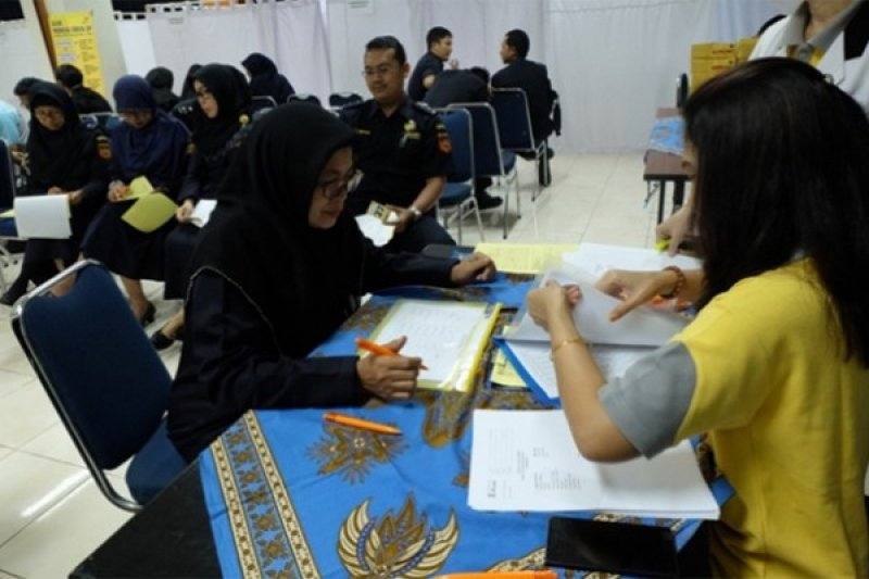 Pegawai Bea Cukai Jalani General Medical Check Up
