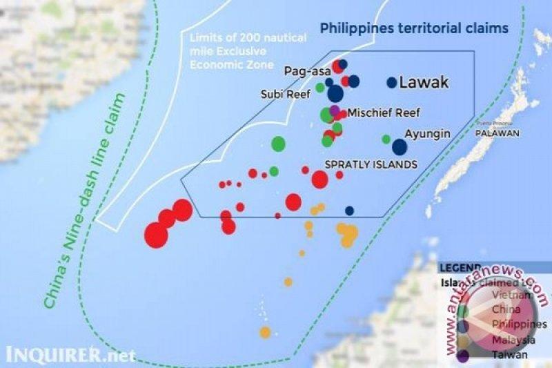 Pejabat AS dan Filipina bahas aktivitas China di Laut China Selatan