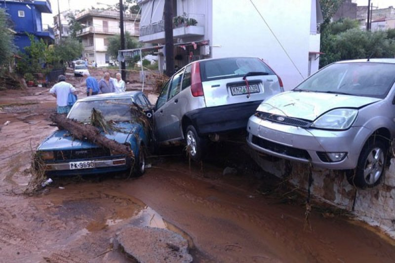 Lima orang meninggal akibat cuaca ekstrem di Yunani