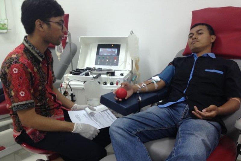 PMI Palembang sosialisasi donor apheresis  untuk penuhi kebutuhan darah
