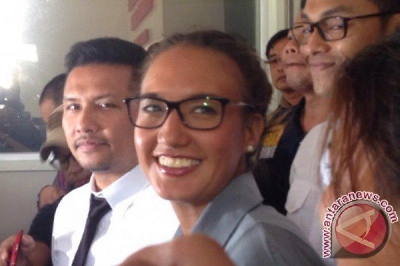Nadine Chandrawinata tak tahu soal Senjata Api Gatot Brajamusti