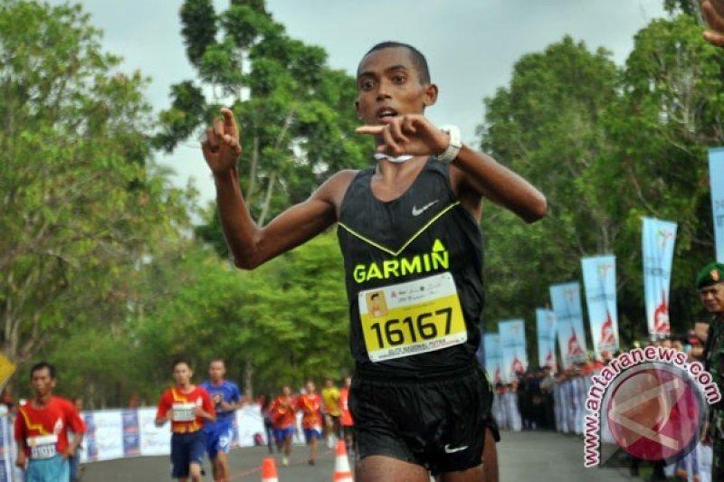 Agus Prayogo Sabet Emas 5.000 Meter
