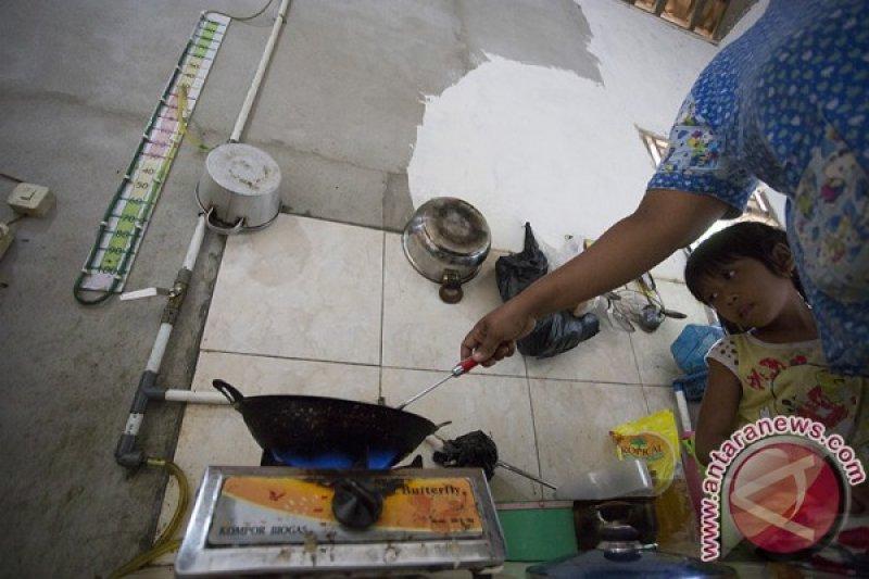 Desa Batumarta OKU bangun reaktor biogas