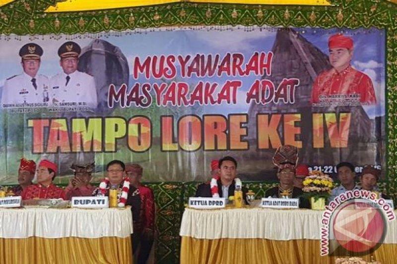 Kongres Adat Lore desak pembentukkan Kabupaten Tampo Lore