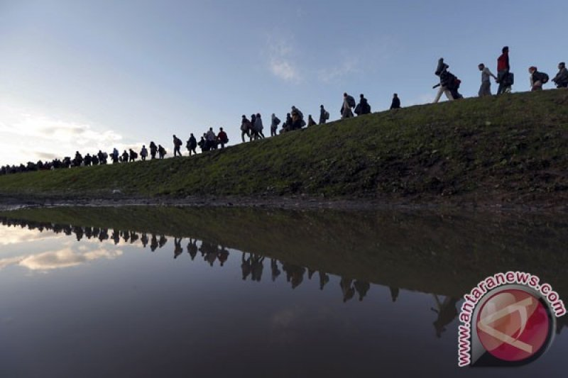 Slovenia bangun pagar perbatasan guna cegah arus migran