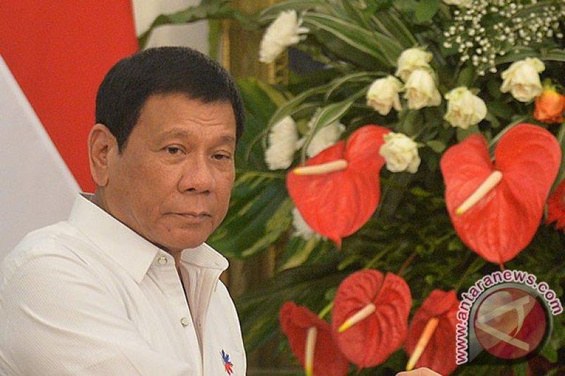 Presiden Duterte besok kunjungi Malaysia