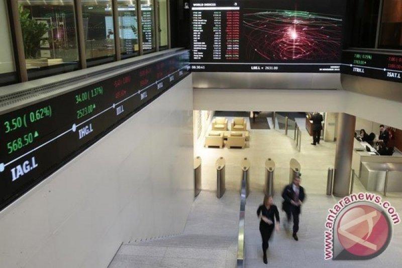 Indeks FTSE-100 Inggris ditutup 1,02 persen lebih tinggi