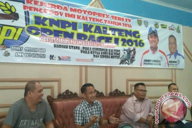 KNPI dan IMI Kalteng Adakan Kejuaraan Motorprix
