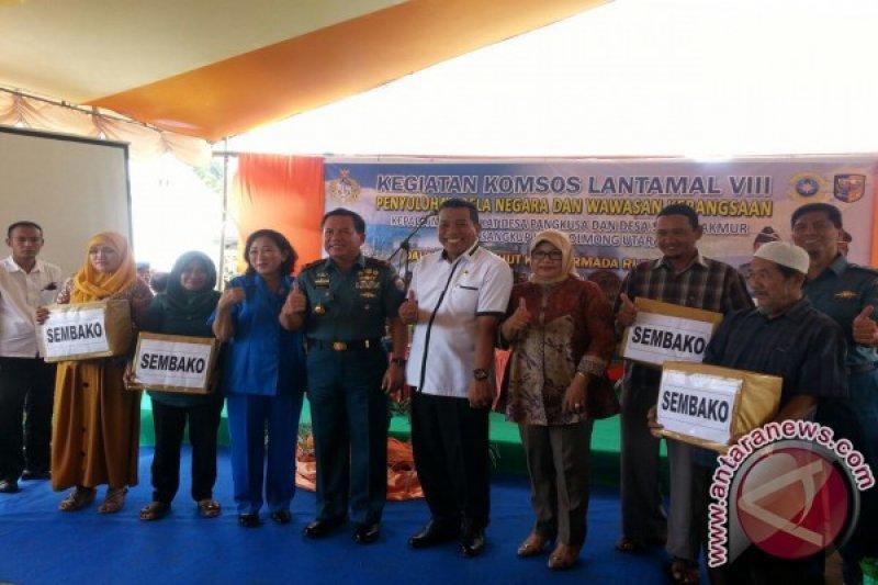 Lantamal Manado gelar bakti sosial di Bolmut