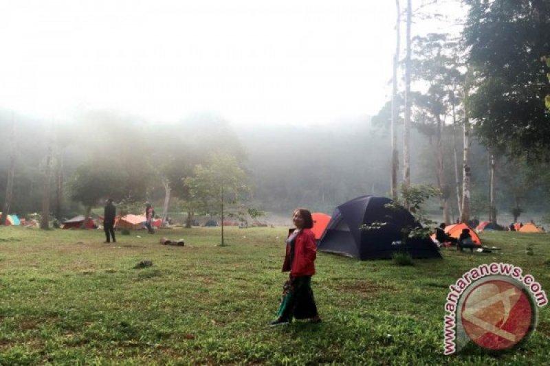 Kunjungan wisatawan ke Tambing setelah bencana turun
