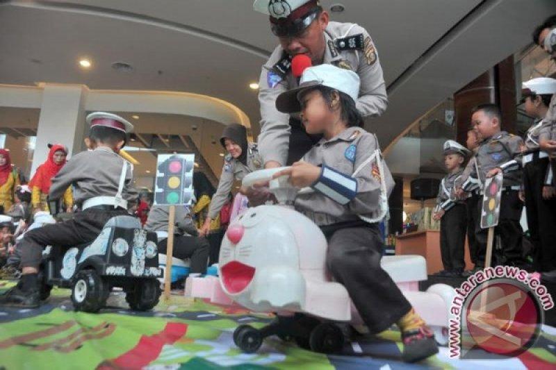 Polri libatkan polisi cilik di Asian Games
