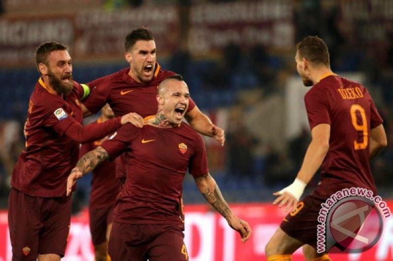 Dzeko bawa Roma menang 2-0  atas Empoli