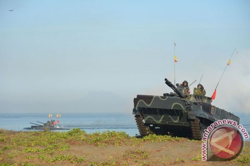 KSAL: TNI AL akanTambah Alutsista Agar Marinir Miliki Postur Berkelas Dunia
