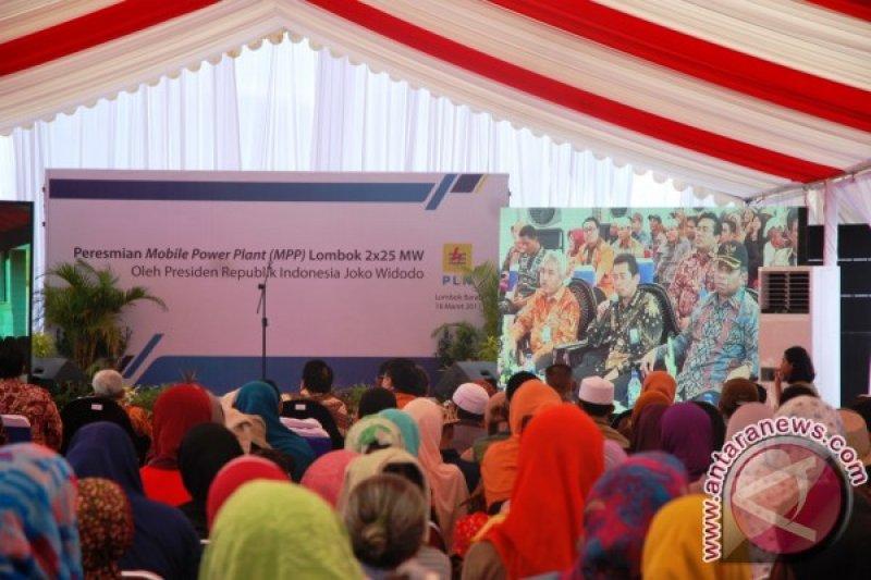 Presiden Resmikan MPP 50 MW di Lombok