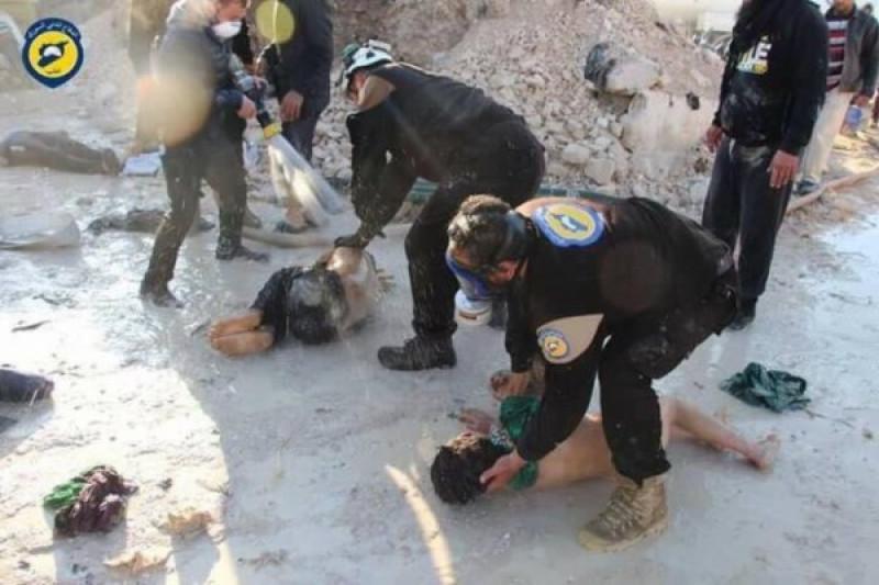 AS klaim punya bukti Suriah siapkan senjata kimia di Idlib