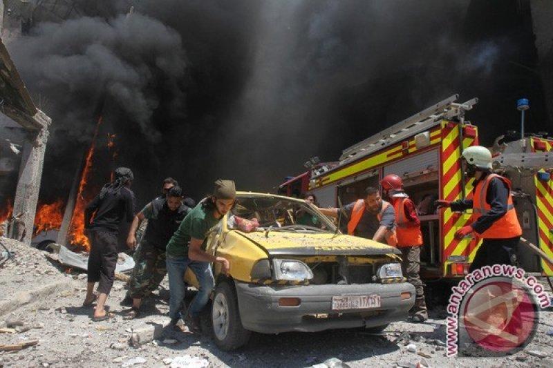 Patroli gabungan Rusia-Turki di Suriah dihantam serangan bom