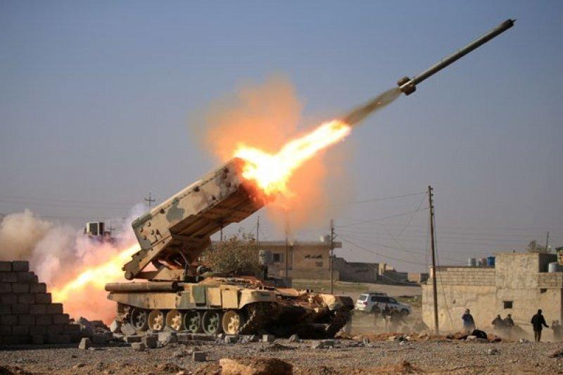 Roket Katyusha hantam pangkalan militer Taji, Irak, belum ada korban jatuh