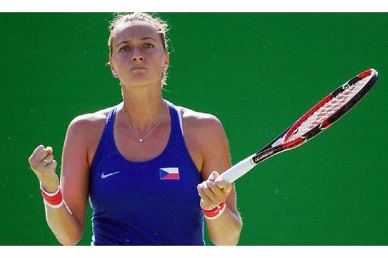 Kvitova, Halep ke perempat final Dubai, Kerber tersingkir
