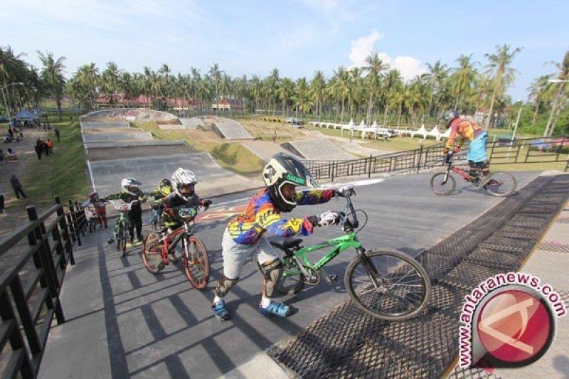 Timnas BMX Indonesia uji kemampuan di Thailand