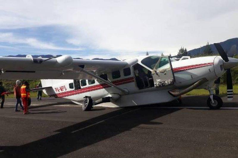 flash-Pesawat milik MAF diduga jatuh di sekitar Danau Sentani