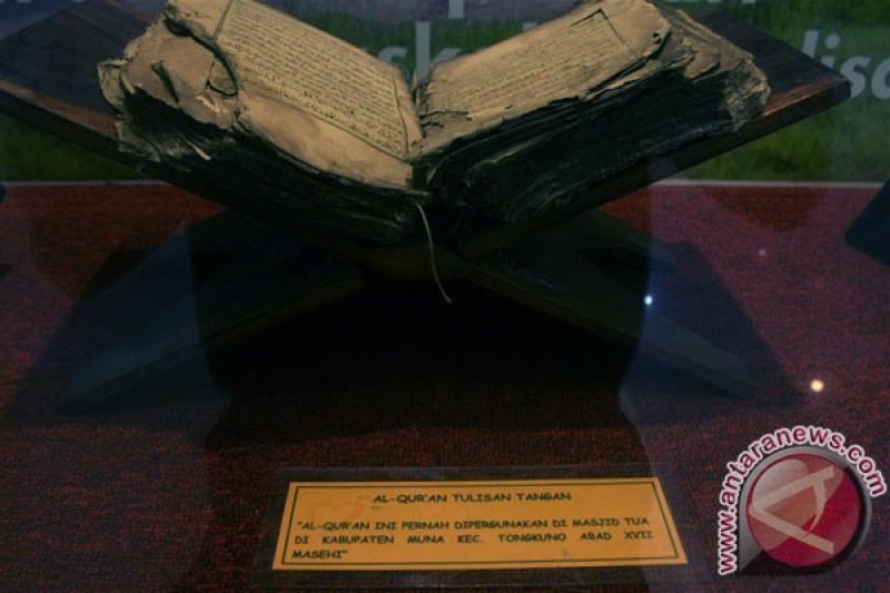 Masjid Agung Palembang pamerkan Al Quran tertua di Asia Tenggara