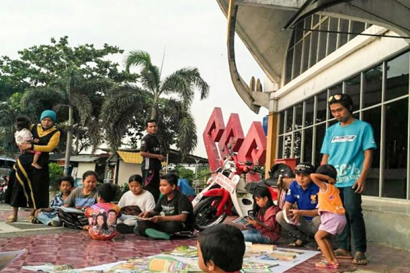 Armada Pustaka Lampung Gelar Safari Literasi