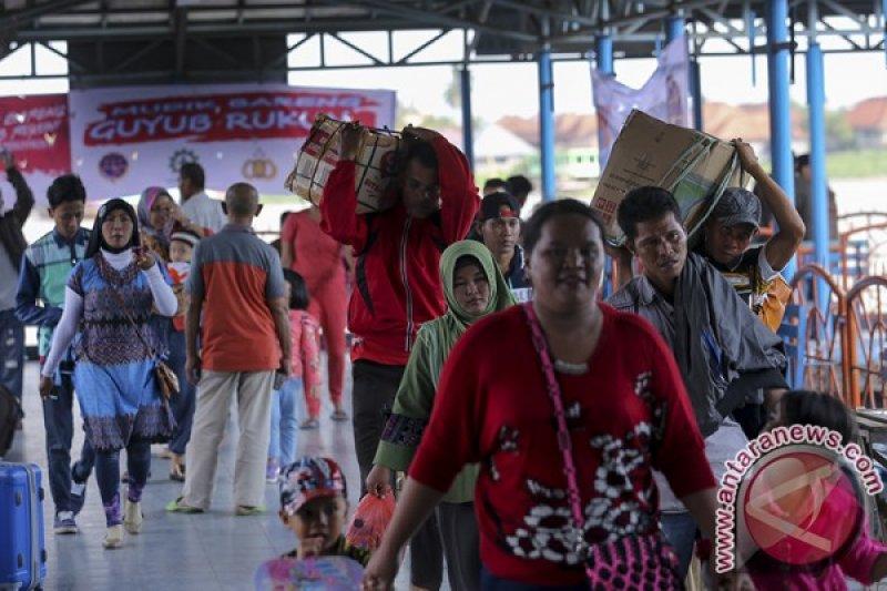 Pengguna jasa kapal cepat Palembang-Bangka meningkat