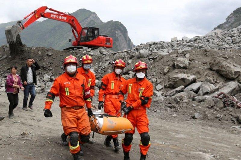 11 orang tewas akibat longsor di China