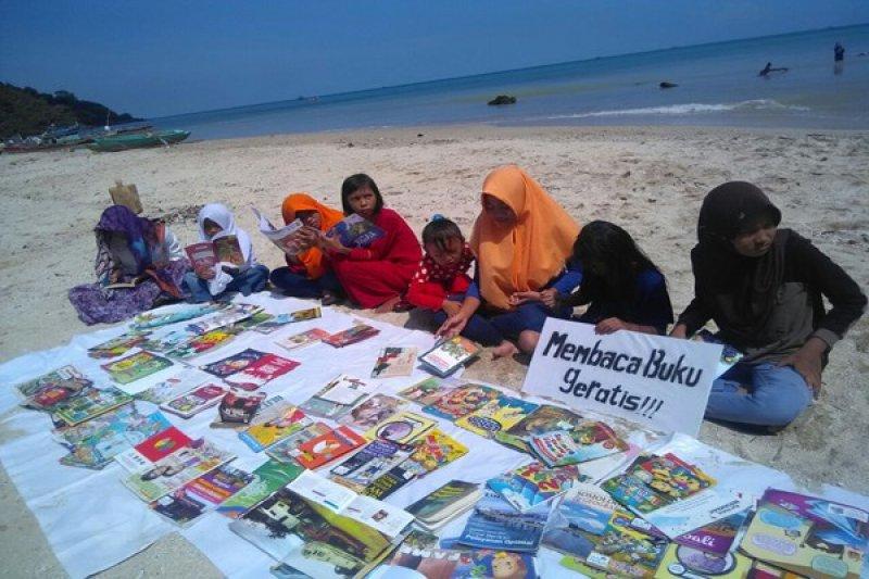 Perahu Pustaka Lampung Gelar Wisata Literasi