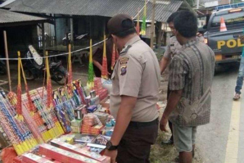 Giatkan Razia, Ribuan Petasan Telah Diamankan Jajaran Kepolisian di Riau