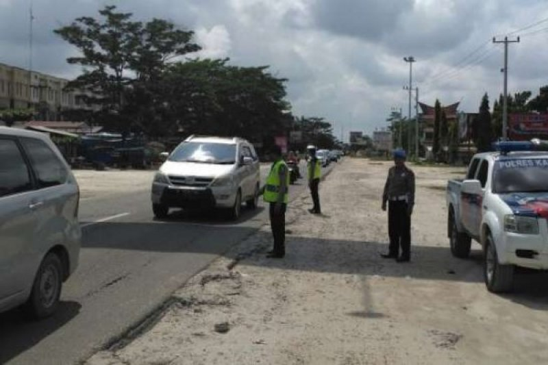 Antisipasi macet arus balik, Dishub Riau beri jalur alternatif